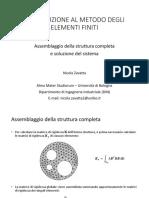 FEM 05 - Assemblaggio struttura completa e soluzione
