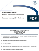 LPS Mortgage Monitor February 2011