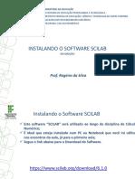 Instalando o Software Scilab