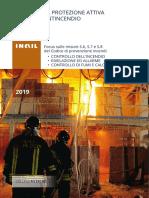 INAIL 2019 - La Protezione Attiva Antincendio - Focus Sulle Misure S.6 S.7 e S.8