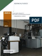 INAIL 2021 - Reazione al fuoco - Focus sulla misura S.1