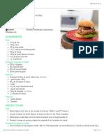 Burger du chalet – Nobelmix – Thermomix Canada