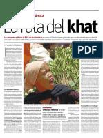 la ruta del khat