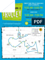 Forest Park Trolley Map 2011