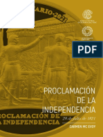 Folleto Bicentenario Independencia