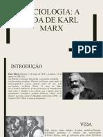 SOCIOLOGIA (Vida de Karl Marx)