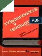 Alberto Flores Galindo, Independencia y Revolución (t.1)-Páginas-1,3-4,118-141