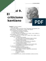 Unidad 8, Kant - apuntes