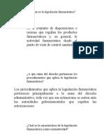 Clase 6 Legislalación Farmaceutico