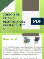 Deontología Farmacéutica