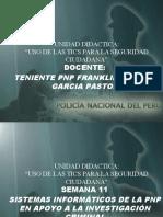 Semana 11 y 12 -Sistemas Informaticos de Apoyo a La Investigacion Criminal