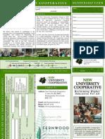 New U Brochure