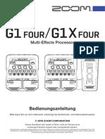 G1X Four - Bedinungsanleitung