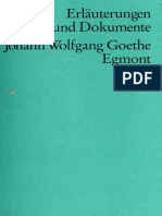 Goethe. Egmont (Erläuterungen)-Reclam (1998)
