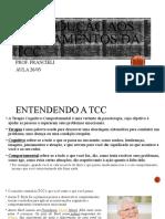 AULA Introdução aos fundamentos da tcc slides