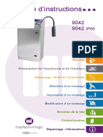 impressora 9042 - Instruction manual - FR