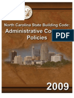 NC Administration Code [2009]