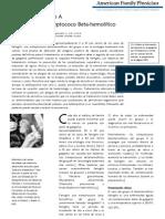 Manejo de La Faringitis  en pediatria