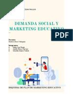 ESQUEMA DE PLAN DE MARKETING EDUCATIVO