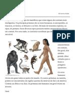 primata _ Britannica Escola