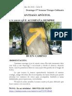 Solemnidad de Santiago 25 julio´21