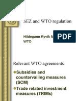 WTO && SEZ