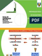 PREPARAÇÃO FÍSICA NO BASQUETEBOL