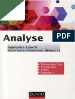 Escofier, Jean-Pierre_ Guimier, Françoise_ Houdebine, Jean - Analyse _ Apprendre à partir d'une base d'exercices _ Niveau L1-Dunod (DL 2013, 2013)