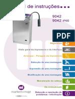 impressora 9042  - Instruction manual - pt