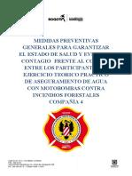 PROTOCOLO OFICIAL EJERCICIO DE ASEGURAMIENTO DE AGUA CON MOTOBOMBAS