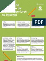 Checklist de divulgação de cursos online