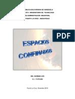 INFORME ESPACIOS CONFINADOS