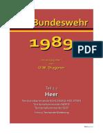 Bundeswehr 1989 Teil 2.2 Heer (Territorialheer)