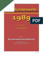 Bundeswehr 1989 Teil 5 Bundeswehrverwaltung