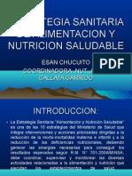 ESAN Y PROM NUTRICION