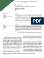 Estrategias Elaboración de Modelos Estadísticos de Regresión - E. Nuñez Et Al., 2011