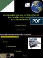 Procedimentos para interpretação e estagios da fotointerpretação