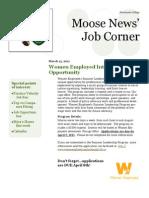 Aurora Job Corner - March 11
