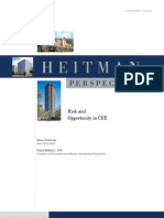 Heitman Perspective-Risk and Opportunity in CEE-Jan 2011 8.5x11