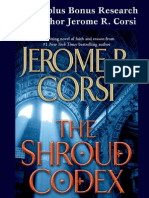 The Shroud Codex by Jerome R. Corsi, plus bonus research from the author