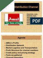 AMUL's Distribution Channel