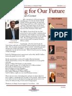 Spring '11 Newsletter