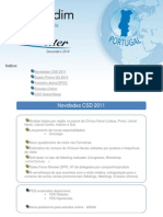 Newsletter CSD Portugal Dec 2010