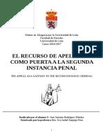 Rodríguez Méndez, José Antonio apelacion españa