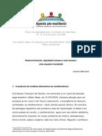 Agenda pós-neoliberal - Ed. 3