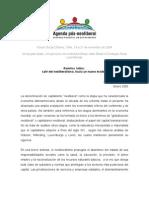 Agenda pós-neoliberal - Ed. 5