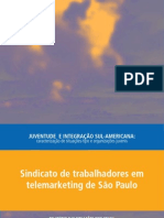 Sindicato de trabalhadores em telemarketing de São Paulo