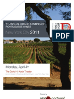 Tasting Guide, 7th Annual Grand Tasting, Vini Portugal