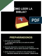 COMO LEER LA BIBLIA 2