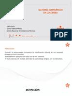 SECTORES ECONÒMICOS EN COLOMBIA PLANTILLA OFICIAL